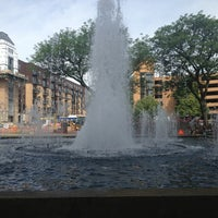 Photo taken at Gateway Park by Meet Minneapolis on 6/24/2013