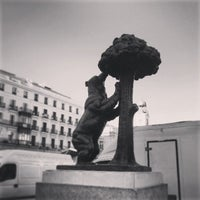Photo taken at Estatua del Oso y el Madroño by Juan S. on 3/15/2013