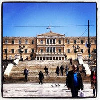 Photo taken at Syntagma Square by Spyros N. on 3/29/2013