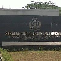 Photo taken at Sekolah Tinggi Akuntansi Negara (STAN) by Mikail K. on 3/30/2013