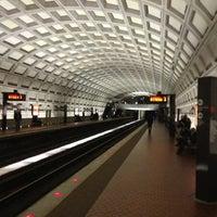 Photo taken at Dupont Circle Metro Station by Aaron H. on 3/30/2013