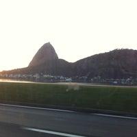 Photo taken at Enseada de Botafogo by Anne Elise T. on 10/6/2012