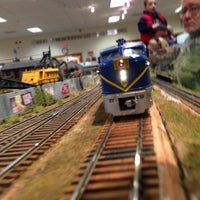 Photo taken at South Shore Model Railway Club by Mamarino on 10/27/2013