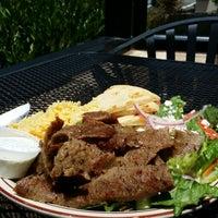 Photo taken at Nikos Steak Burgers & Greek Food by Chris H. on 5/20/2014