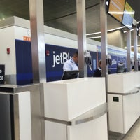 Photo taken at jetBlue Ticket Counter by Eric A. on 5/30/2016