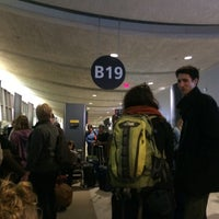 Photo taken at Gate B19 by Eric A. on 1/31/2016