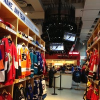 Photo taken at NHL Store Powered by Reebok by rocco p. on 12/15/2012