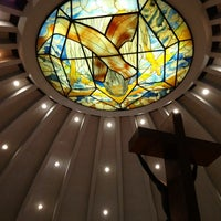 Photo taken at Sto. Niño de Paz Community Chapel by Baby Love_M&M on 10/7/2012