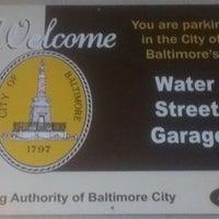 Photo taken at SP+ Parking @ Water Street Garage by Spam on 10/19/2012