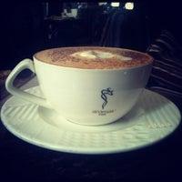Photo taken at Aromas Café by Sriram B. on 11/1/2012