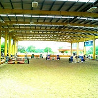 Photo taken at The Royal Horse Guard Riding Club by Punpanat B. on 8/3/2014