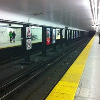 Photo taken at Bathurst Subway Station by Tamara W. on 1/1/2013