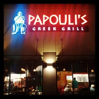 Photo taken at Papouli's Greek Grill by Craig F. on 3/10/2013