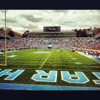 Photo taken at Kenan Memorial Stadium by Angelo C. on 10/27/2012