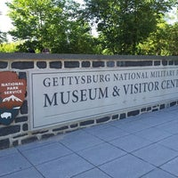 Photo taken at Gettysburg National Military Park Museum and Visitor Center by Amy C. on 6/20/2014