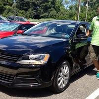 Photo taken at Garnet Volkswagen by Chelle P. on 9/23/2013