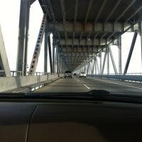 Photo taken at Richmond-San Rafael Bridge by Carmen A. on 12/24/2012