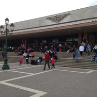 Photo taken at Venezia Santa Lucia Railway Station (XVQ) by Alberto C. on 4/27/2013