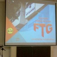 Photo taken at Fakultas Teknik Geologi by Dewi C W. on 6/11/2013