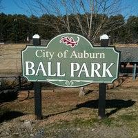 Photo taken at Auburn Ball Park by Brad G. on 3/3/2013