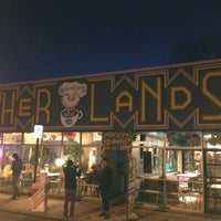 Photo taken at Otherlands Coffee Bar & Exotic Gifts by Alex B. on 3/12/2013