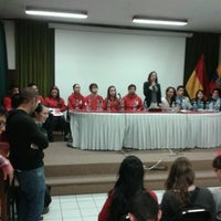 Photo taken at Facultad de Administracion UDA by Andrea V. on 12/13/2012