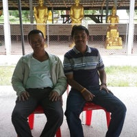 Photo taken at วัดแหลมสน by ณัฏฐนันท์ ค. on 9/23/2014