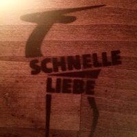 Photo taken at Schnelle Liebe by gei3el on 11/14/2016