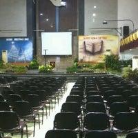 Photo taken at Gereja Allah Baik Pusat by Dony C Y on 12/14/2012