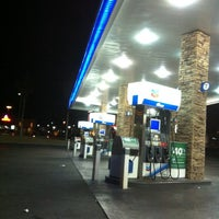 Photo taken at Chevron by Amanda W. on 10/21/2012