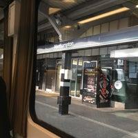 Photo taken at Northampton Railway Station (NMP) by jaeeun s. on 7/12/2013