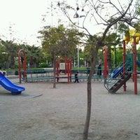 Photo taken at Parque Inés de Suárez by Moises A. on 10/26/2012
