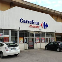 Photo taken at Carrefour by Luca F. on 8/11/2013