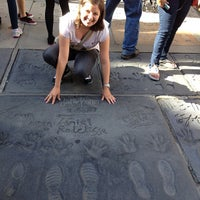 Photo taken at TCL Chinese Theatre by Camila N. on 5/26/2013