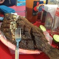 Photo taken at El Primo Pescados Fritos Y Mariscos by Oscar G. on 1/12/2013