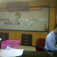 Photo taken at Kantor Pelayanan Pajak Pratama Mataram Barat by SUPRIYANTHO K. on 11/10/2014