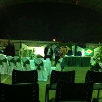 Photo taken at Ginasio de Esportes de Jaguaretama by Luis N. on 1/1/2013