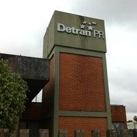 Photo taken at DETRAN/PR - Departamento de Trânsito do Paraná by Ivonei S. on 11/12/2012