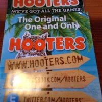 Photo taken at Hooters by Nathan M. on 12/10/2012