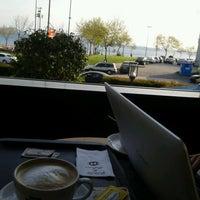 Photo taken at Caffé Nero by Ayçin B. on 4/19/2013