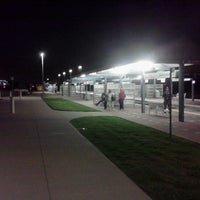 Photo taken at CentrePort / DFW Airport Station (TRE, DART bus, The T) by Spencer K. on 9/21/2012