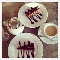 Photo taken at Lindt Chocolat Café by PONGpong J. on 6/17/2013
