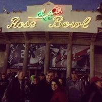 Photo taken at Rose Bowl Stadium by Julie C. on 1/2/2013