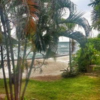 Photo taken at Haad Tian Beach Resort by Yilmaz D. on 1/2/2015