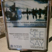 Photo taken at TSA Security by Nicholas B. on 8/21/2012