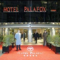 Photo taken at Hotel Palafox by Yuliana on 10/26/2012