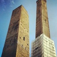 Photo taken at Torre Garisenda by Schorschi R. on 10/3/2012
