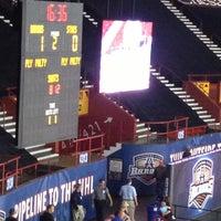 Photo taken at Oklahoma City Barons Hockey by Tiffany R. on 5/17/2013
