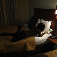 Photo taken at Hyatt Place Lexington by Claire B. on 12/28/2012