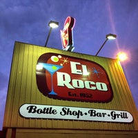 Photo taken at El Roco Bar & Grill by Roster M. on 9/28/2012